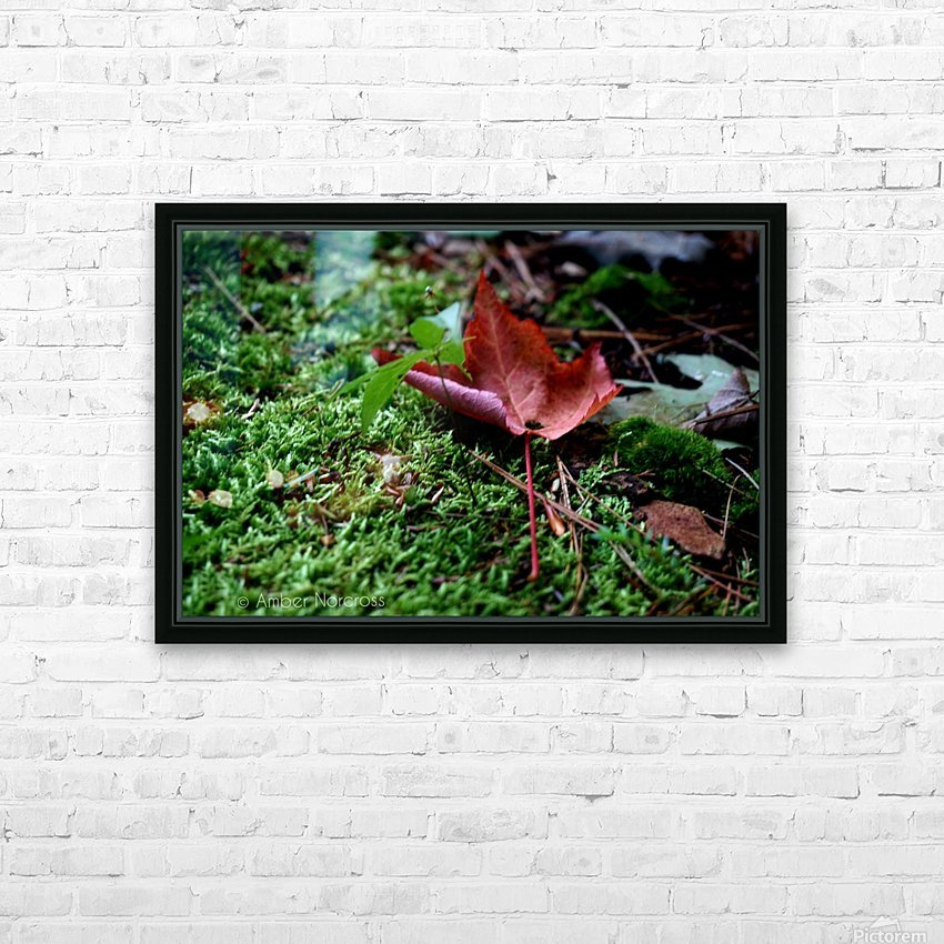 First sign of Fall HD Sublimation Metal print with Decorating Float Frame (BOX)