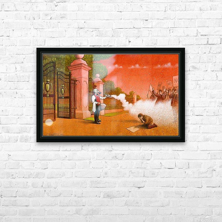PawelKuczynski46 HD Sublimation Metal print with Decorating Float Frame (BOX)