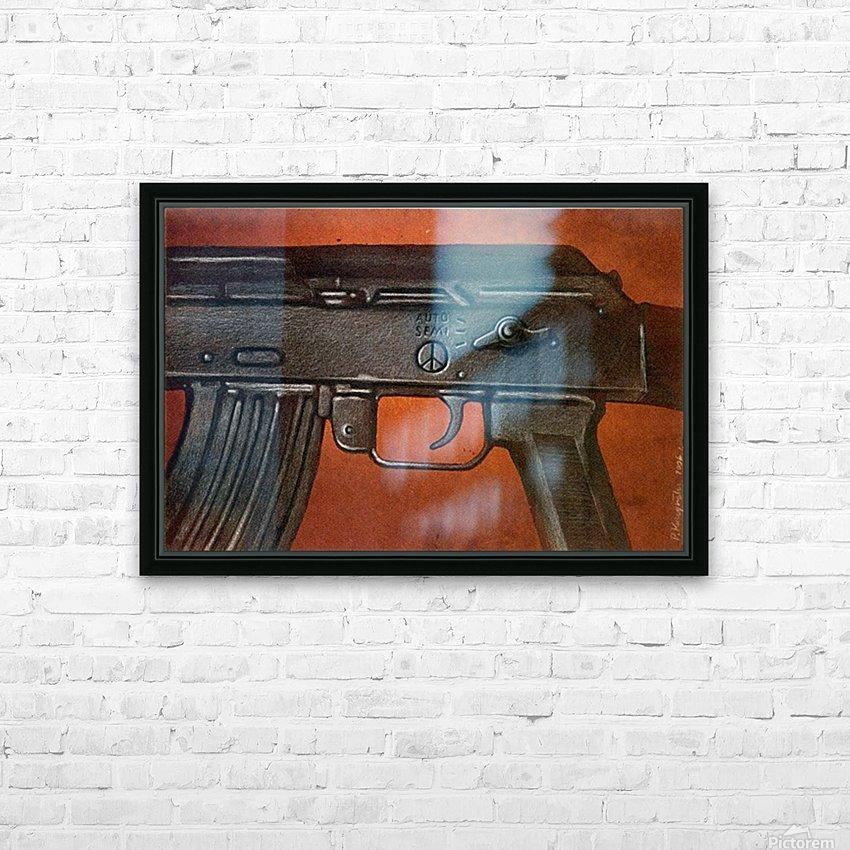 PawelKuczynski47 HD Sublimation Metal print with Decorating Float Frame (BOX)