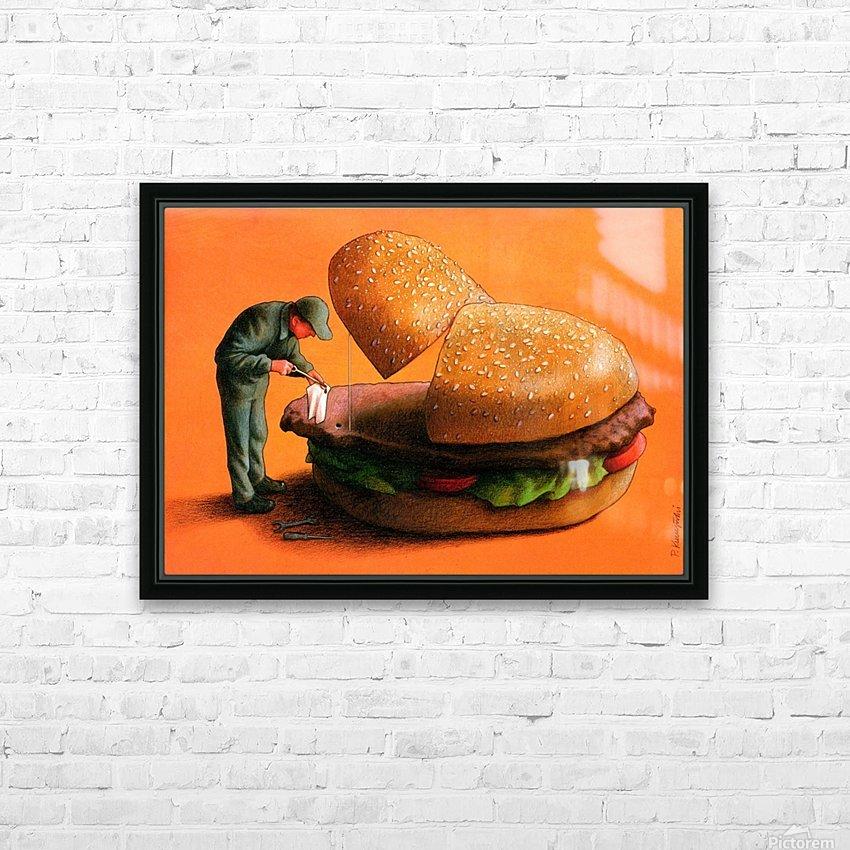 PawelKuczynski49 HD Sublimation Metal print with Decorating Float Frame (BOX)