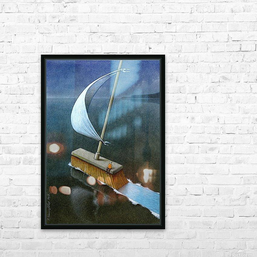 PawelKuczynski50 HD Sublimation Metal print with Decorating Float Frame (BOX)