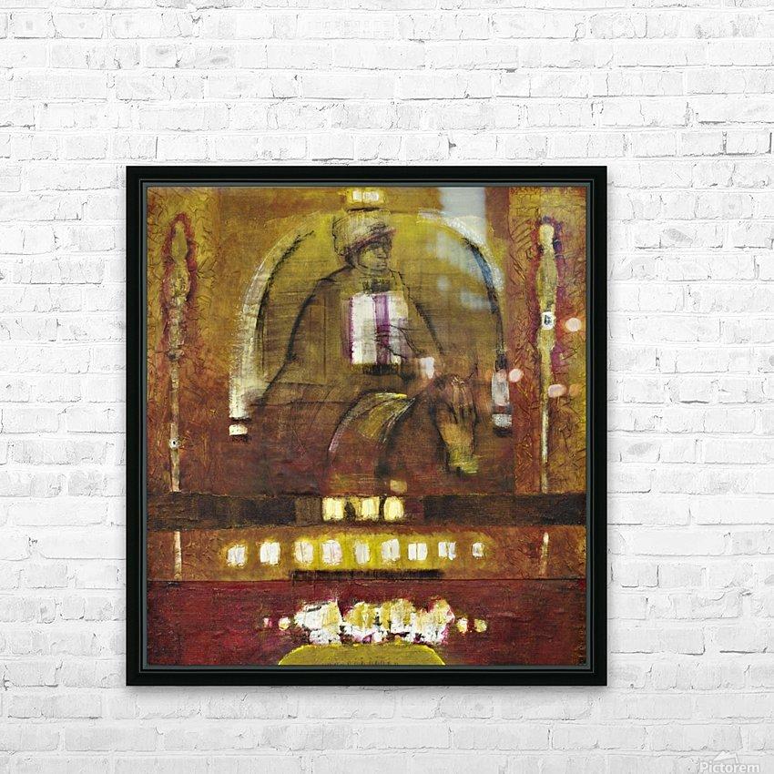Fantasia 2 HD sublimation métal imprimé avec décoration flotteur cadre (boîte)