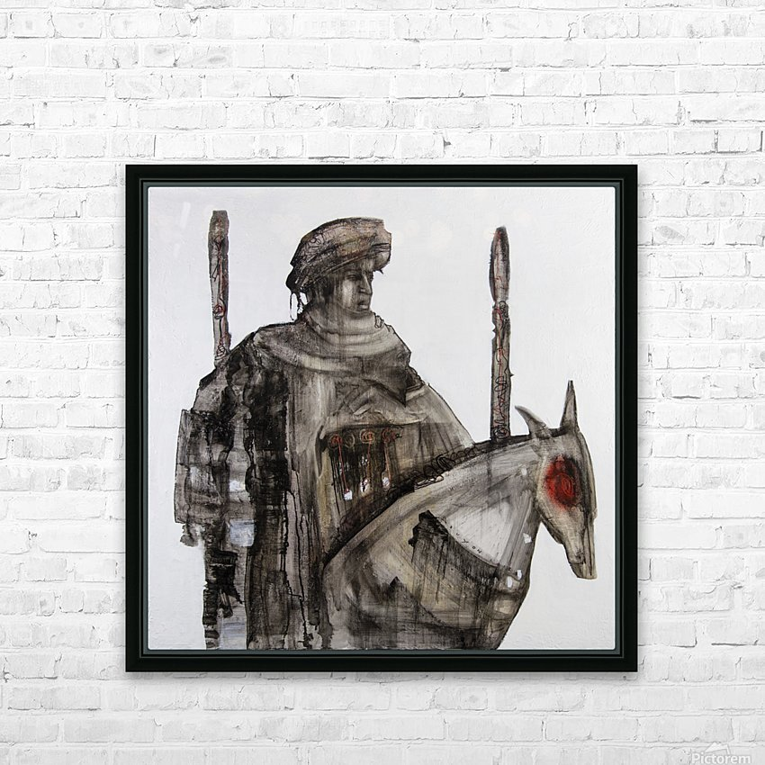 Shadow horserider 5 HD Sublimation Metal print with Decorating Float Frame (BOX)
