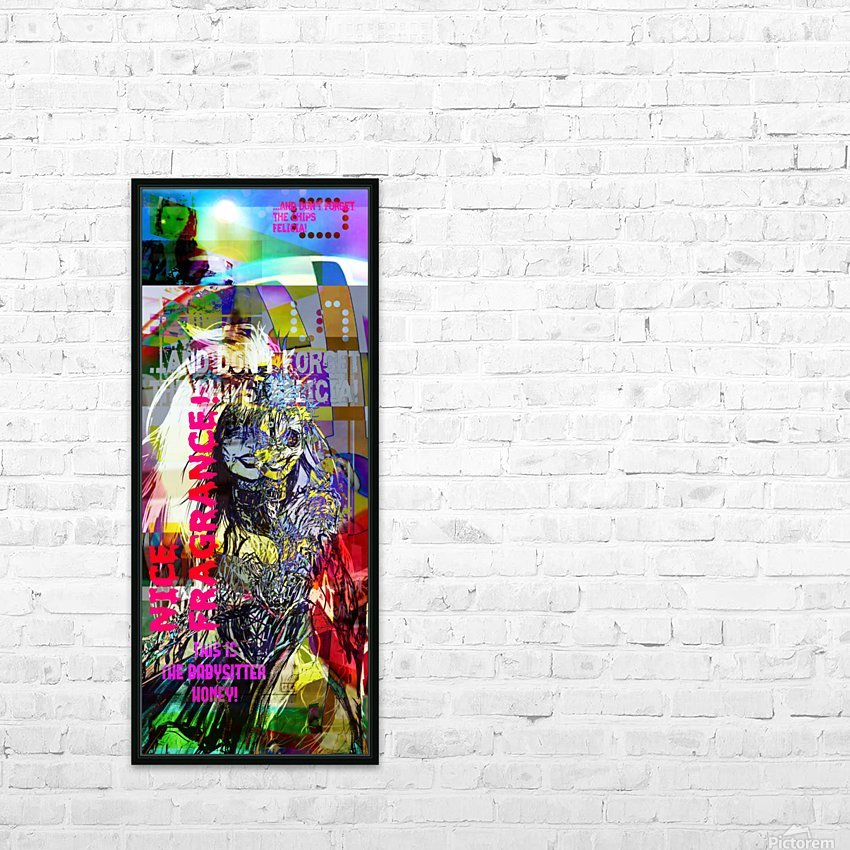 R_PUNKS_SOMEKINDOFMONSTER HD Sublimation Metal print with Decorating Float Frame (BOX)