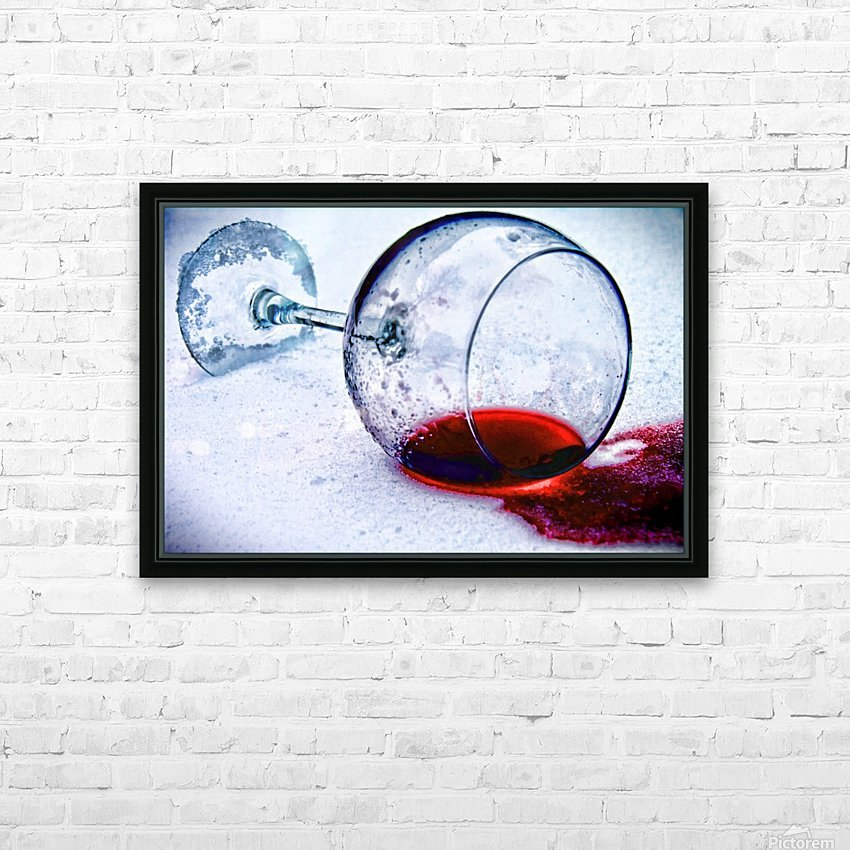Wine Art 3 HD Sublimation Metal print with Decorating Float Frame (BOX)
