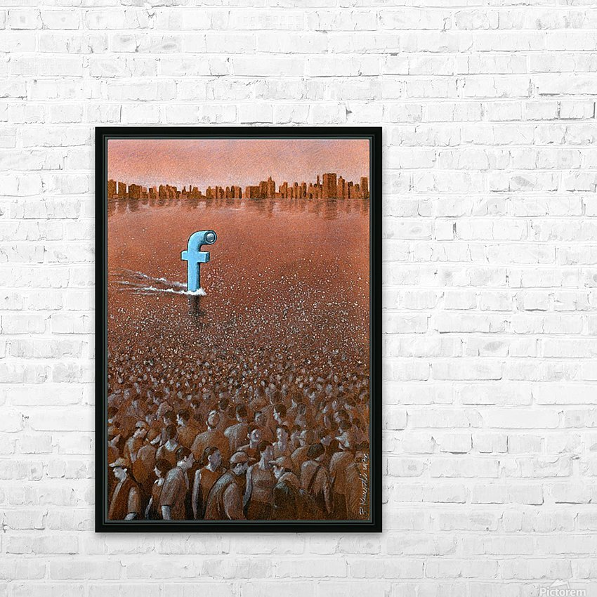 PawelKuczynski58 HD Sublimation Metal print with Decorating Float Frame (BOX)