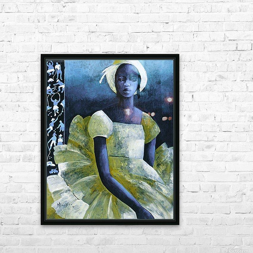 Birthday girl HD sublimation métal imprimé avec décoration flotteur cadre (boîte)