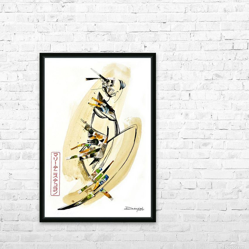 FAA Kreol Nippon 11 HD Sublimation Metal print with Decorating Float Frame (BOX)