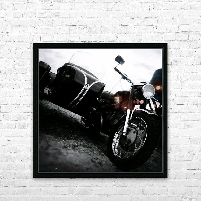 For the Love of Classic HD Sublimation Metal print with Decorating Float Frame (BOX)