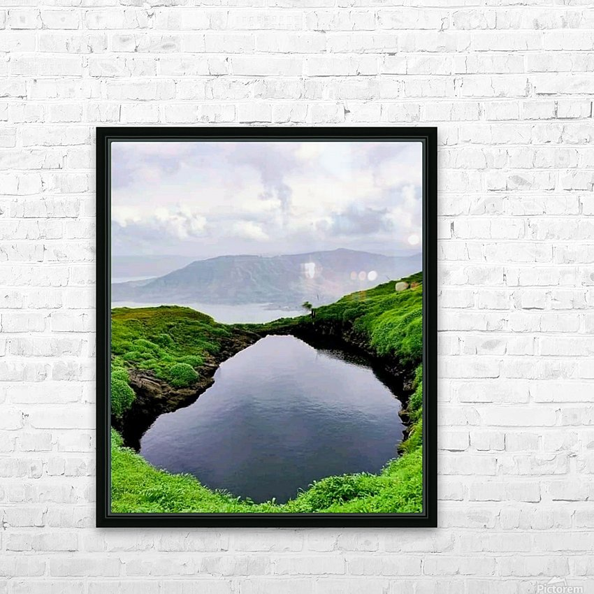 k4848~2 HD Sublimation Metal print with Decorating Float Frame (BOX)