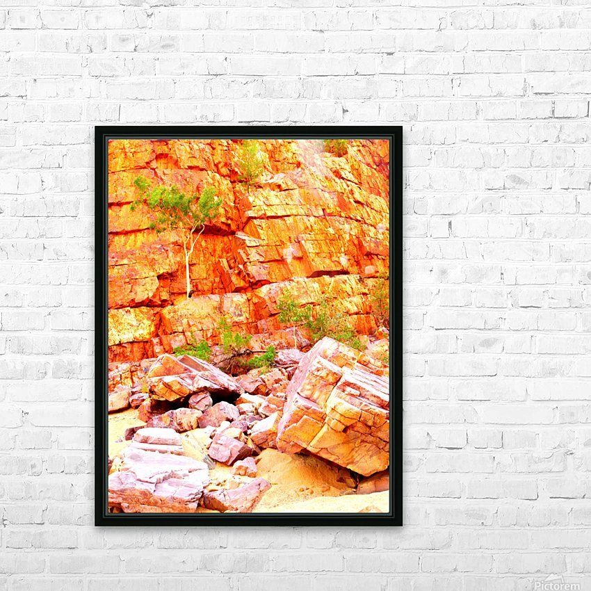 Surviving - Ormiston Gorge HD Sublimation Metal print with Decorating Float Frame (BOX)