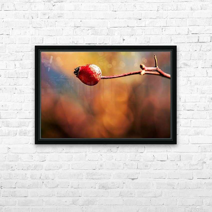 Red bud HD Sublimation Metal print with Decorating Float Frame (BOX)