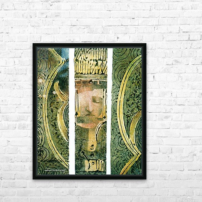 Secret mortel HD Sublimation Metal print with Decorating Float Frame (BOX)