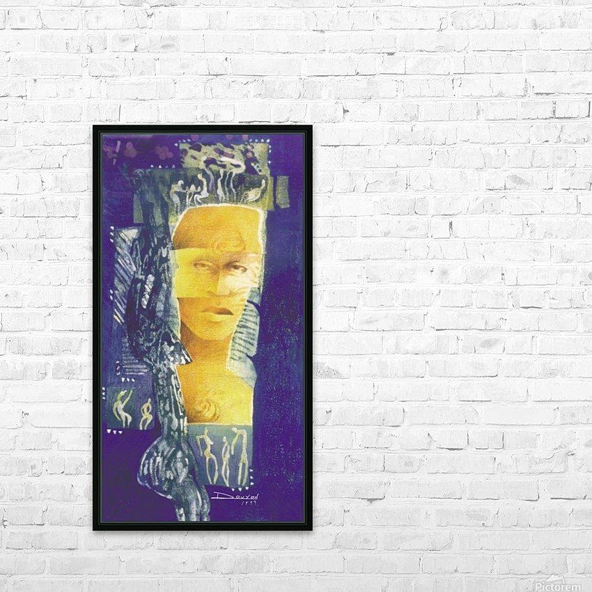 Wondering man HD sublimation métal imprimé avec décoration flotteur cadre (boîte)