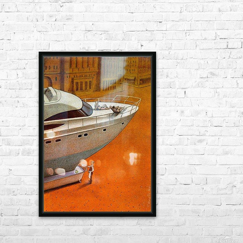 PawelKuczynski70 HD Sublimation Metal print with Decorating Float Frame (BOX)
