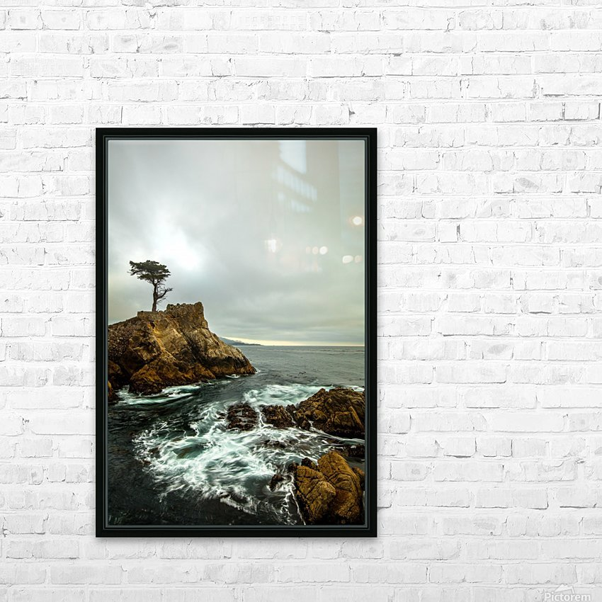 stormy HD Sublimation Metal print with Decorating Float Frame (BOX)