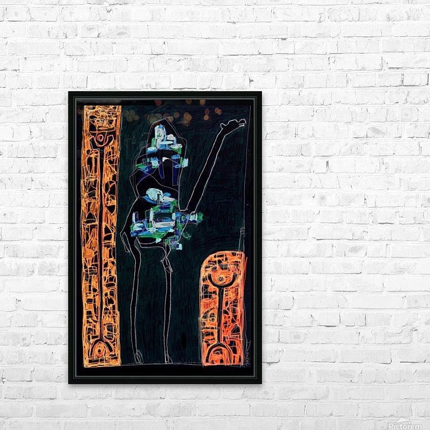 bck Kamel2 HD Sublimation Metal print with Decorating Float Frame (BOX)