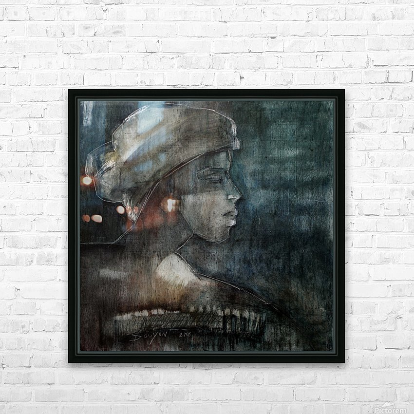 The weight of Shame HD Sublimation Metal print with Decorating Float Frame (BOX)