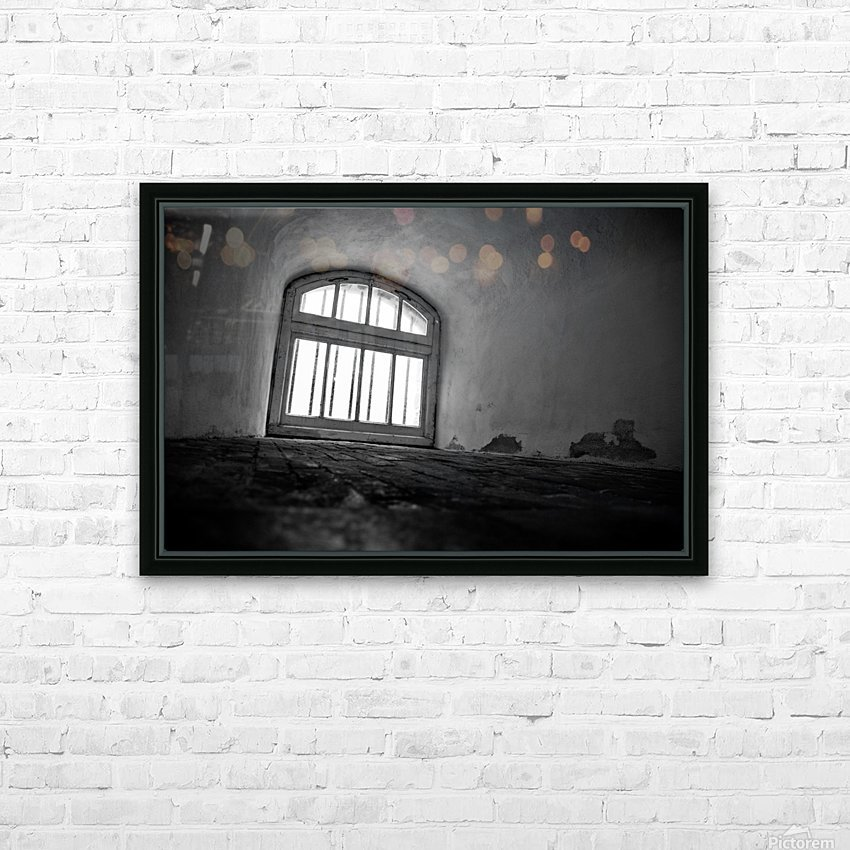 Prisoners View HD Sublimation Metal print with Decorating Float Frame (BOX)