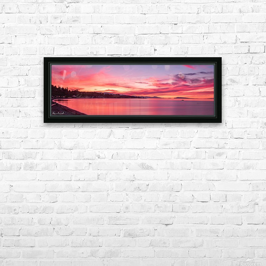Late August sunset DSC_3494 HD Sublimation Metal print with Decorating Float Frame (BOX)