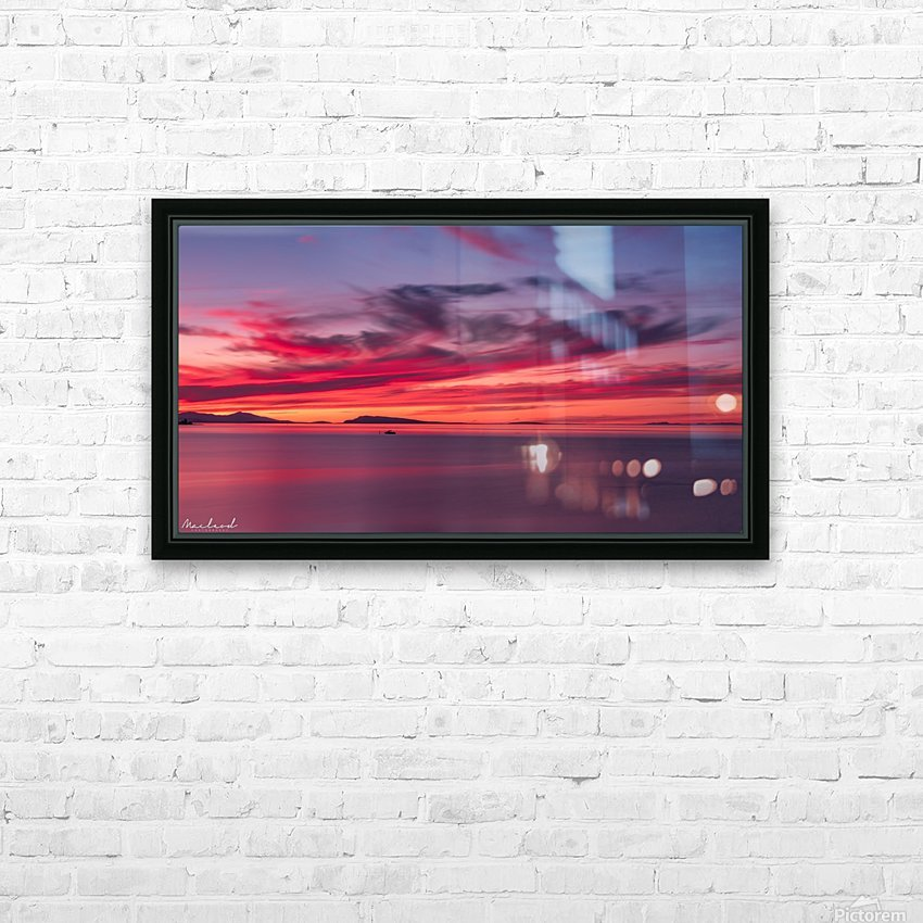 Late summer sunset DSC_3498 HD Sublimation Metal print with Decorating Float Frame (BOX)