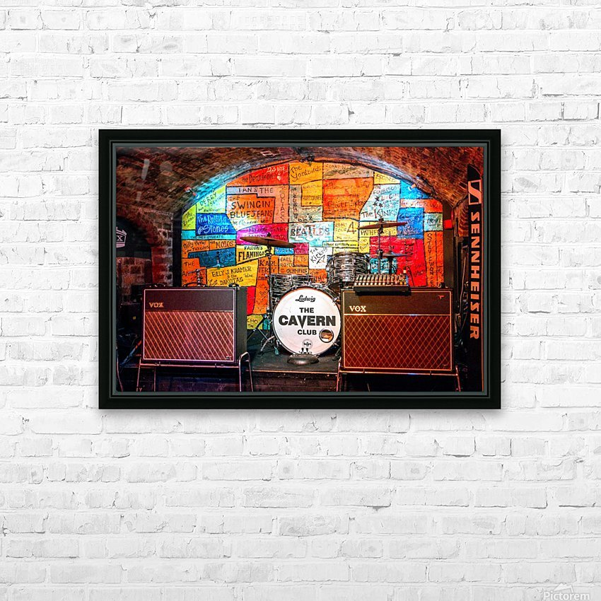 The Cavern HD Sublimation Metal print with Decorating Float Frame (BOX)