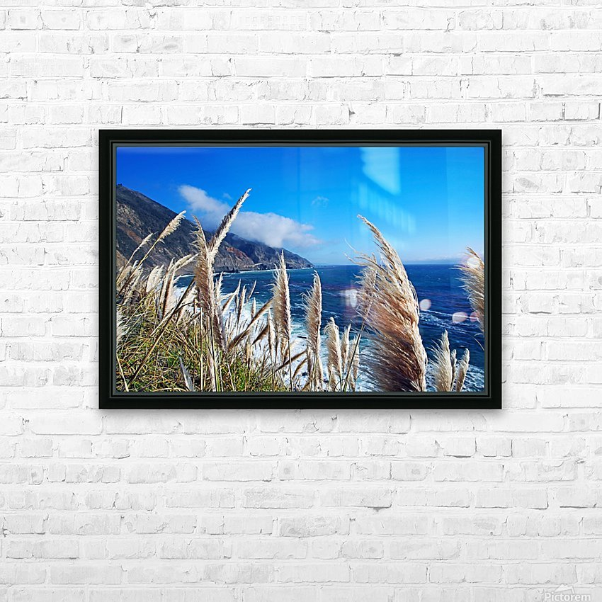 In the wind HD Sublimation Metal print with Decorating Float Frame (BOX)