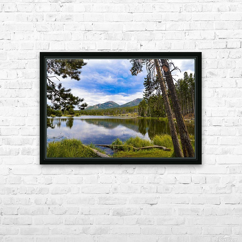 Sprague Lake HD Sublimation Metal print with Decorating Float Frame (BOX)