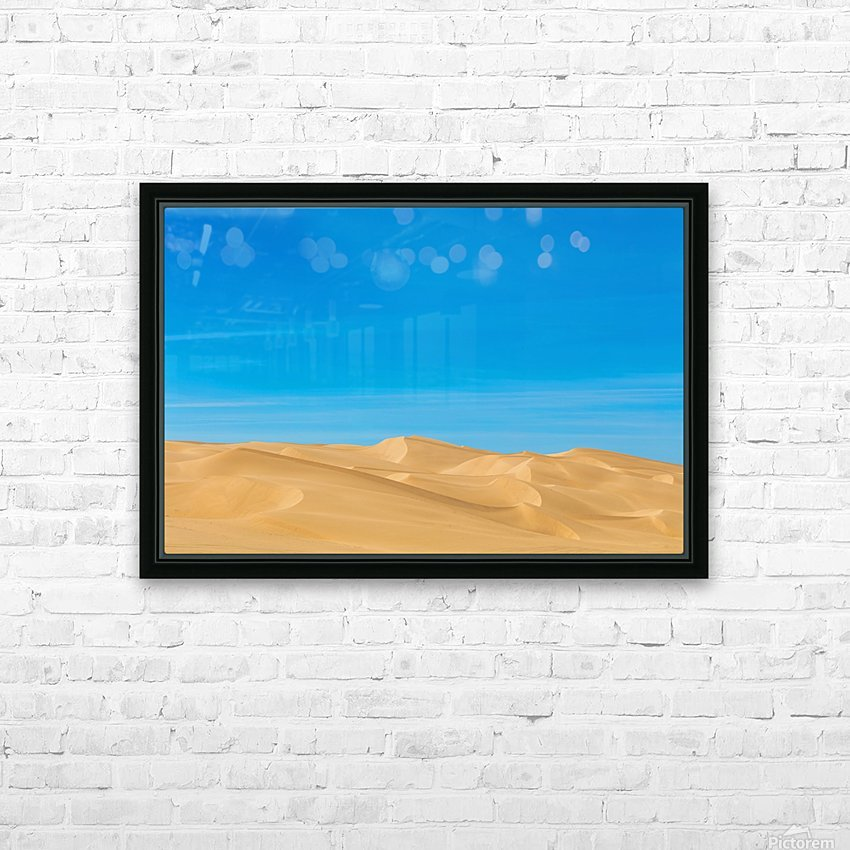 Painters dream HD Sublimation Metal print with Decorating Float Frame (BOX)