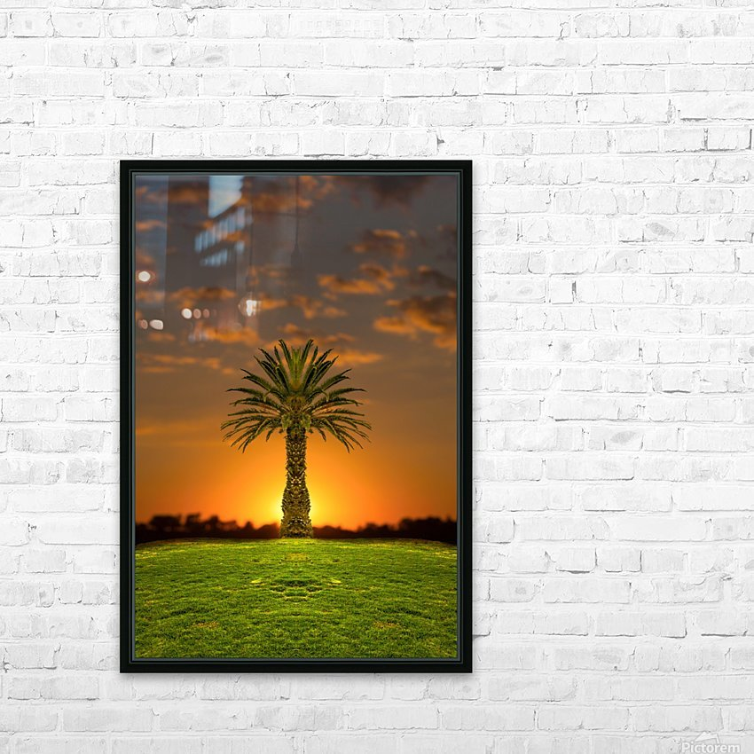 Phoenix Rising HD Sublimation Metal print with Decorating Float Frame (BOX)