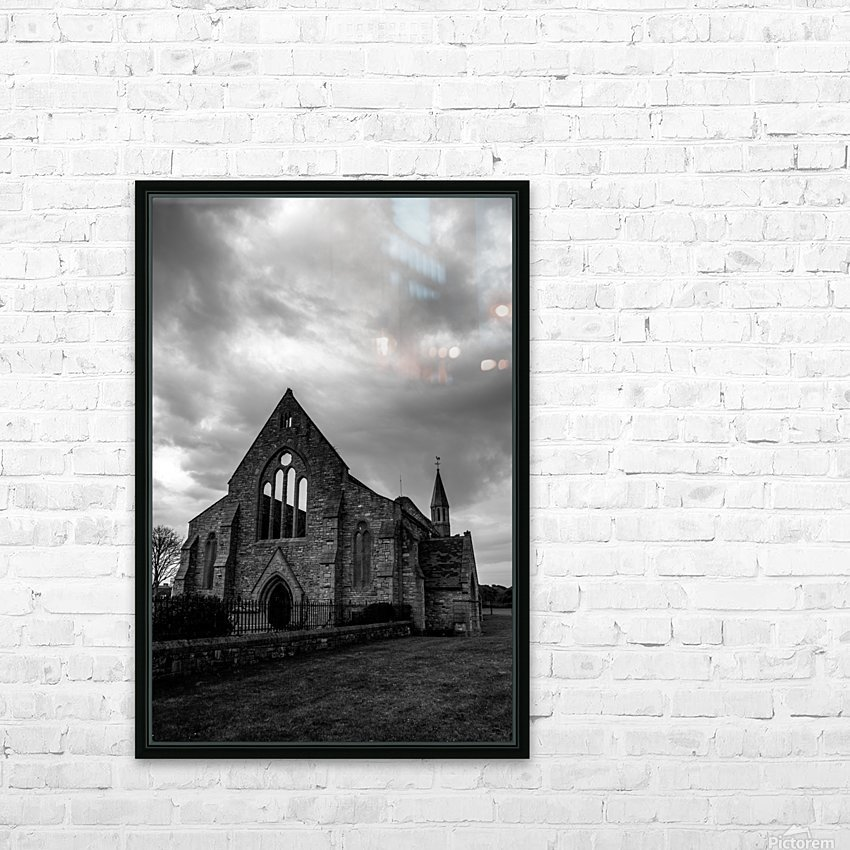 Garrison Church Portsmouth HD Sublimation Metal print with Decorating Float Frame (BOX)