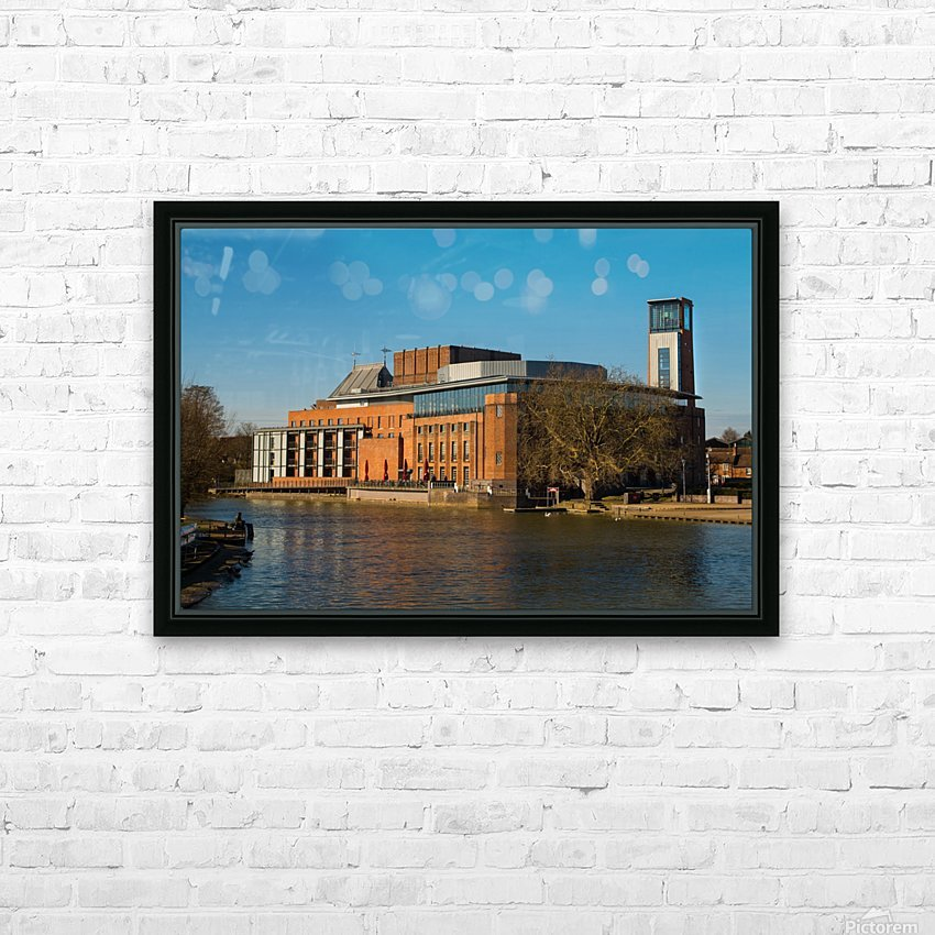Royal Shakespear HD Sublimation Metal print with Decorating Float Frame (BOX)