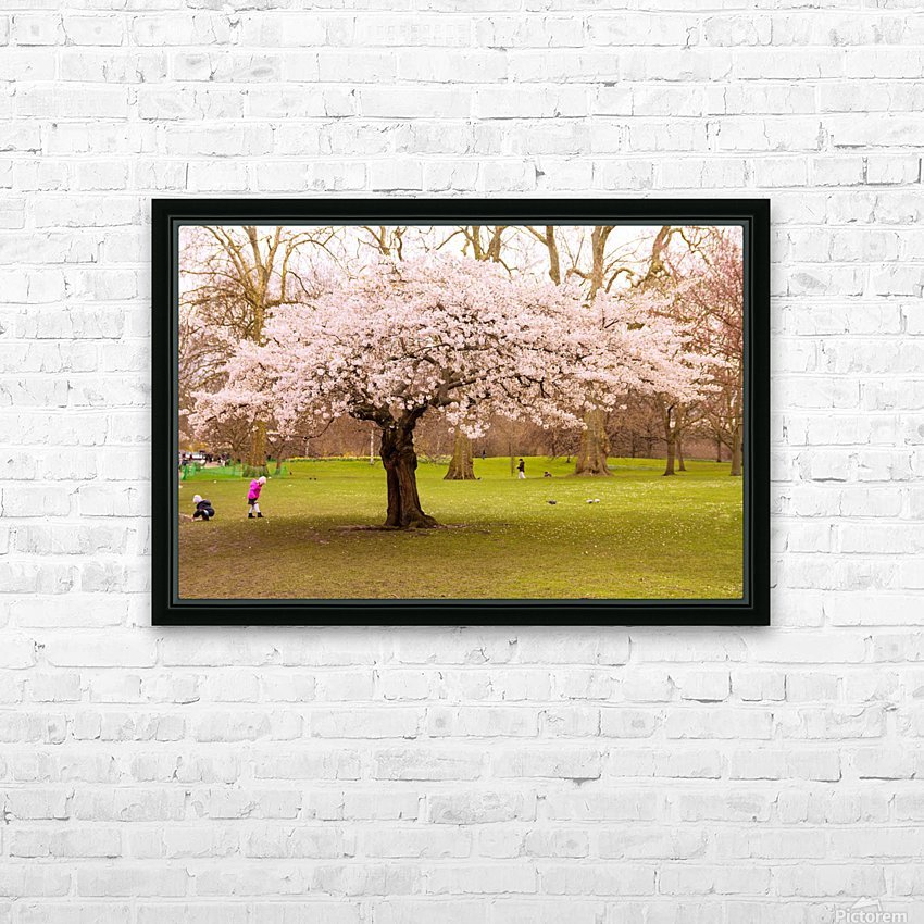 Blossom Tree HD Sublimation Metal print with Decorating Float Frame (BOX)