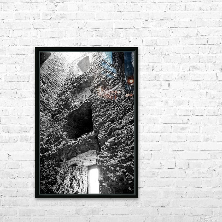 Kenilworth Castle Ruins HD Sublimation Metal print with Decorating Float Frame (BOX)