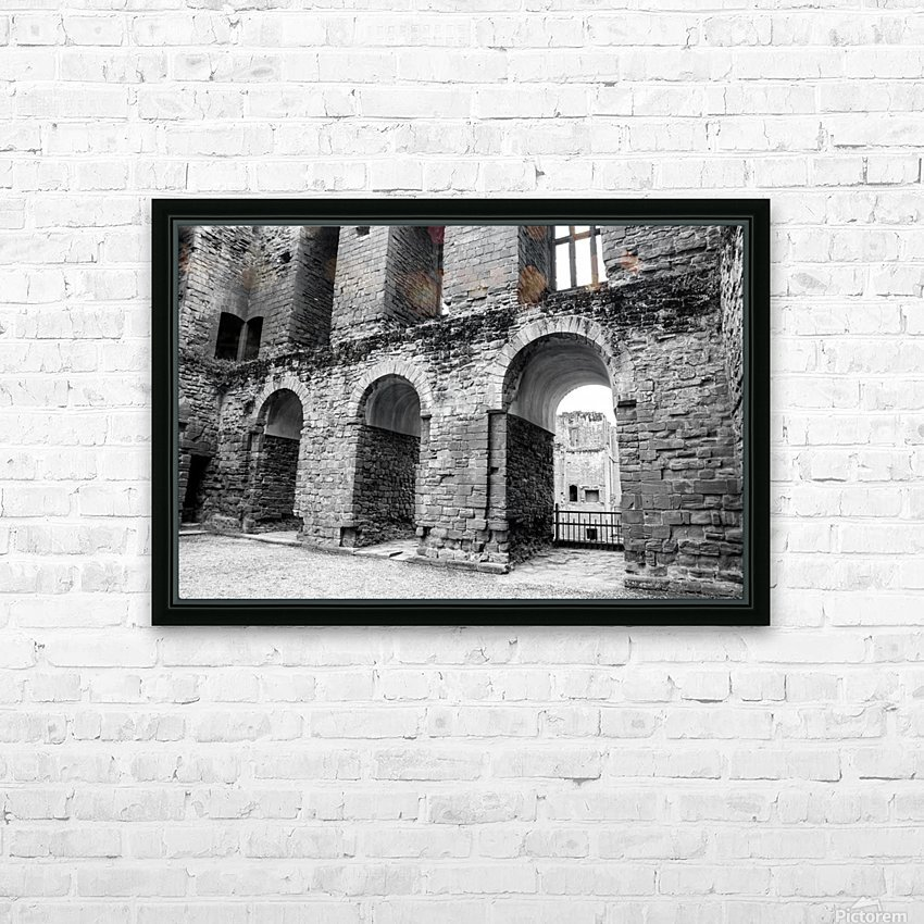 Kenilworth Castle 2 HD Sublimation Metal print with Decorating Float Frame (BOX)