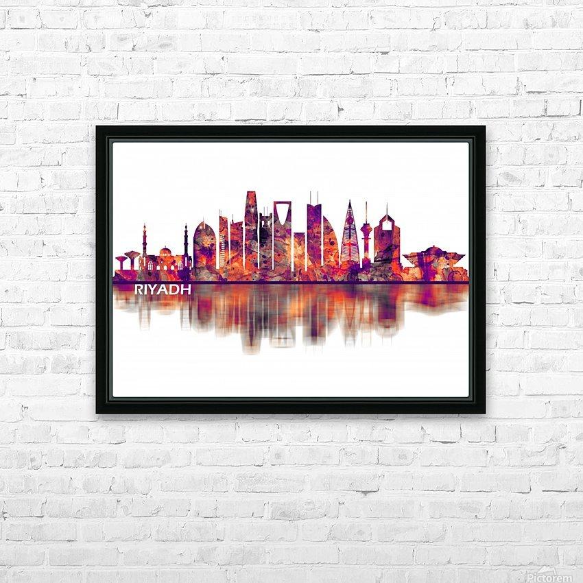 Riyadh Saudi Arabia Skyline HD Sublimation Metal print with Decorating Float Frame (BOX)