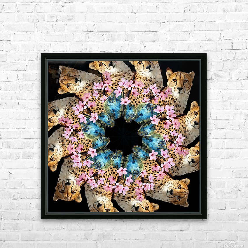 BAD KITTY - HD Sublimation Metal print with Decorating Float Frame (BOX)