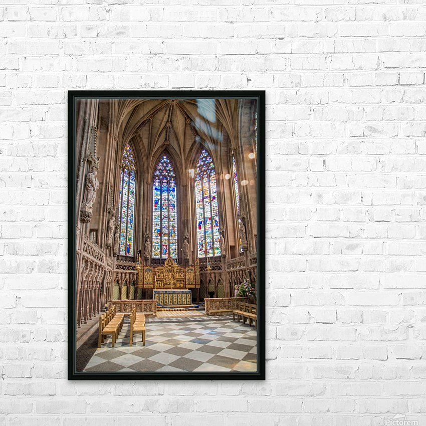 Litchfield Cathedral HD Sublimation Metal print with Decorating Float Frame (BOX)