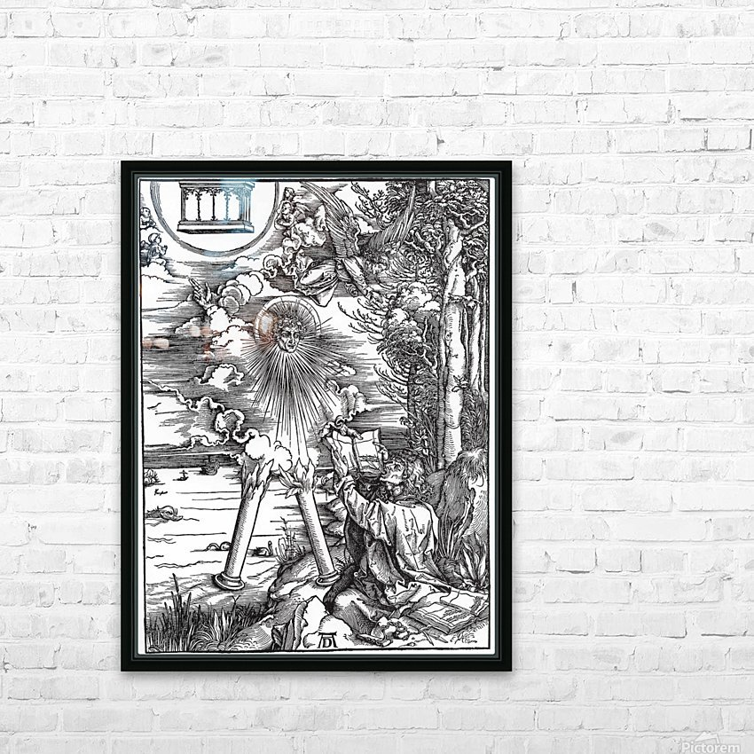 St. John Devouring the Book from the 'Apocalypse' HD Sublimation Metal print with Decorating Float Frame (BOX)