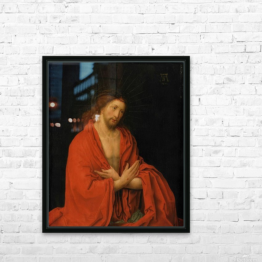 Christ crowned with thorns HD Sublimation Metal print with Decorating Float Frame (BOX)
