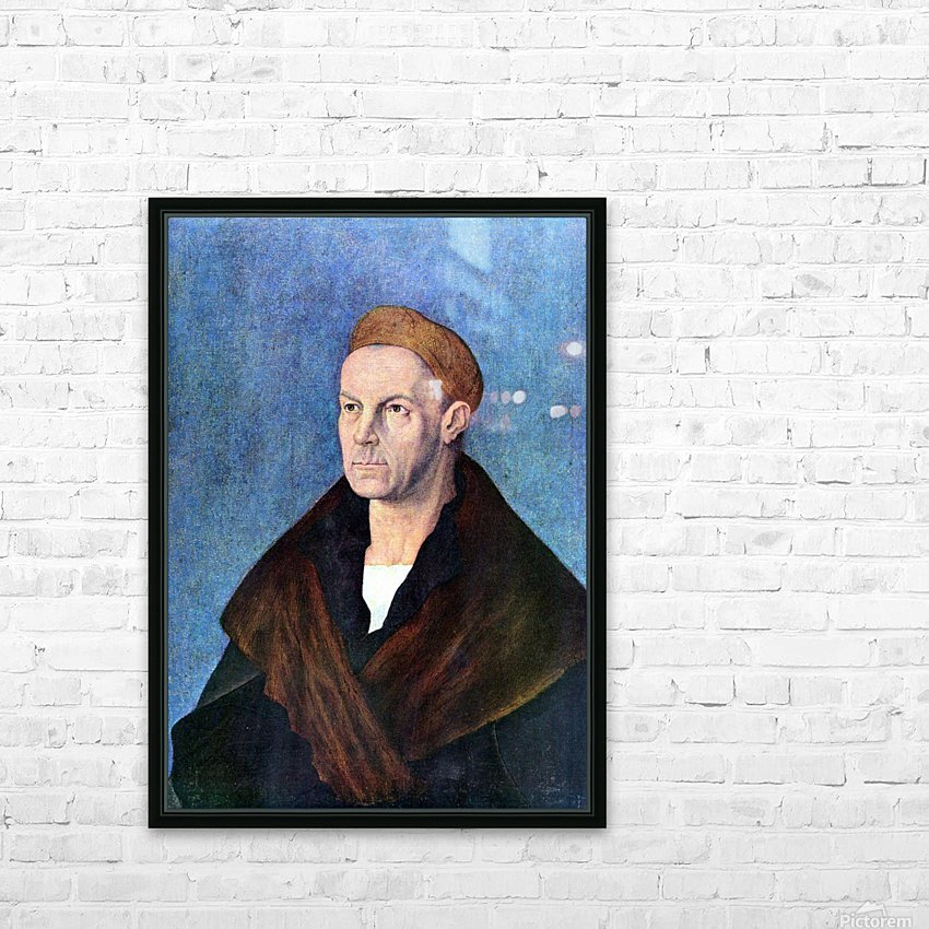 Jacob Fugger HD Sublimation Metal print with Decorating Float Frame (BOX)