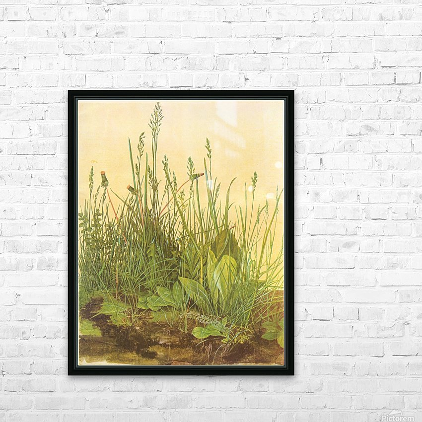 The large turf HD Sublimation Metal print with Decorating Float Frame (BOX)