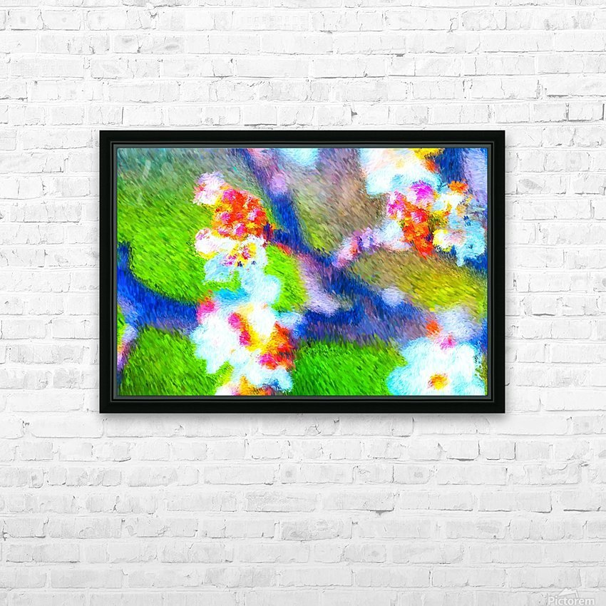 High On the Branch  HD Sublimation Metal print with Decorating Float Frame (BOX)