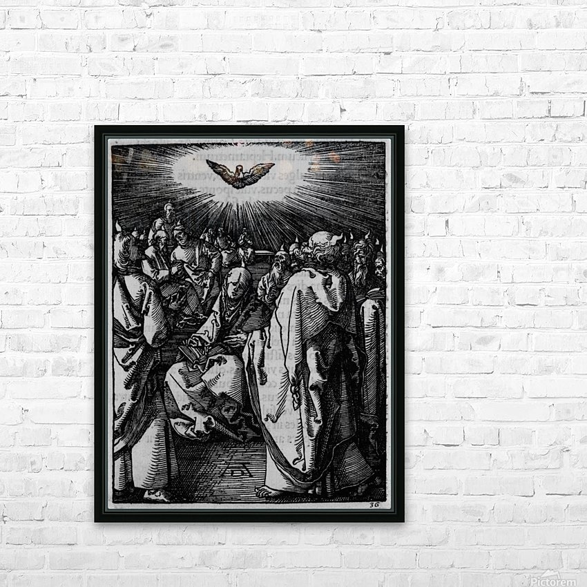 Holy wisdom presence HD Sublimation Metal print with Decorating Float Frame (BOX)