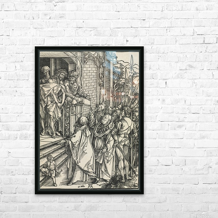 Jesus Christ taken to public HD Sublimation Metal print with Decorating Float Frame (BOX)