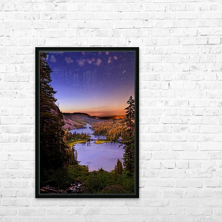 Twin Magic HD Sublimation Metal print with Decorating Float Frame (BOX)