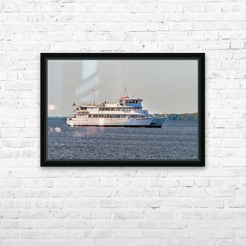 Chief commanda II HD Sublimation Metal print with Decorating Float Frame (BOX)
