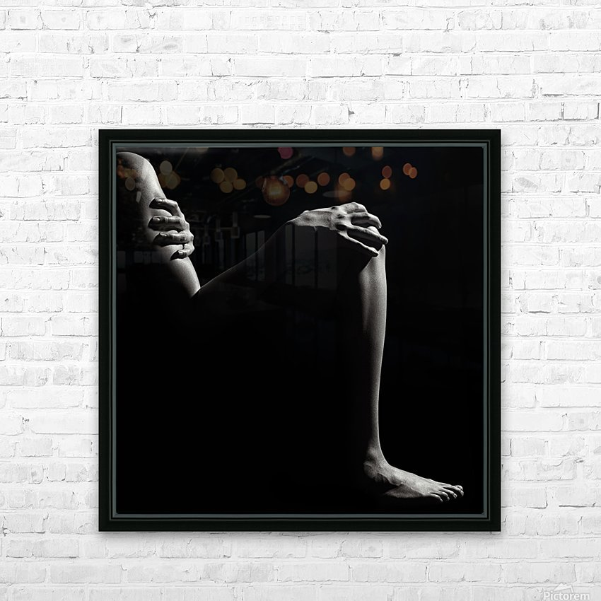 Nude woman fine art 6 HD Sublimation Metal print with Decorating Float Frame (BOX)
