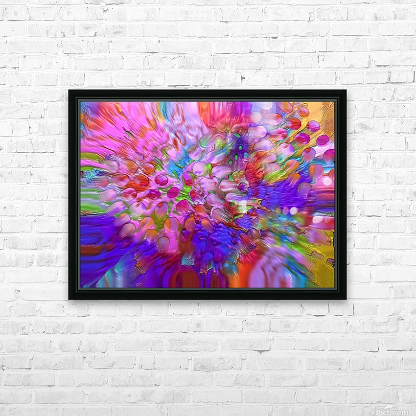 65 HD Sublimation Metal print with Decorating Float Frame (BOX)