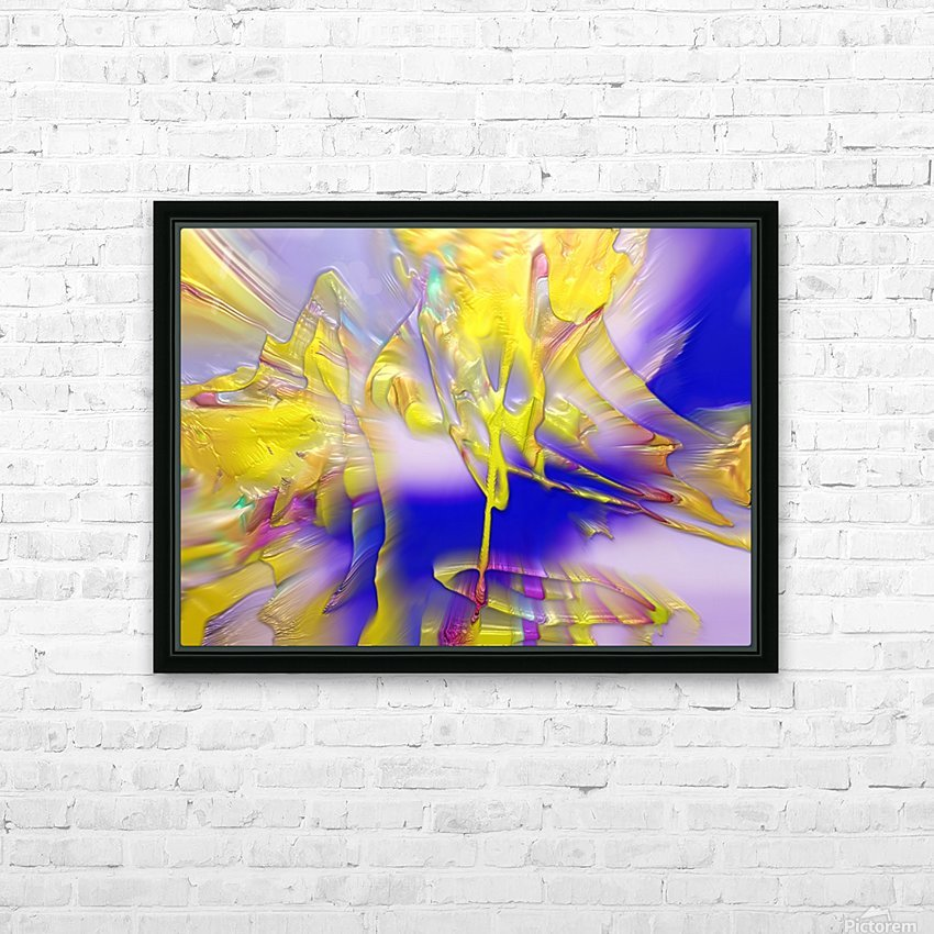 26 HD Sublimation Metal print with Decorating Float Frame (BOX)